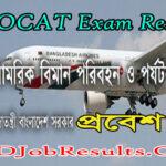 MOCAT Exam Result 2021