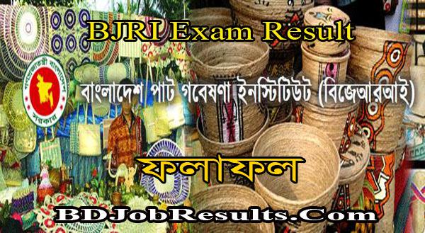 BJRI Exam Result 2021