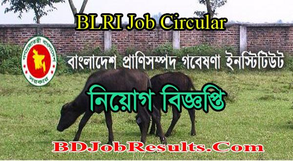 BLRI Job Circular 2021