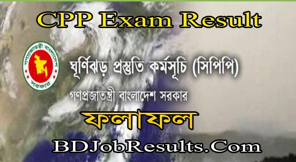 CPP Exam Result 2021