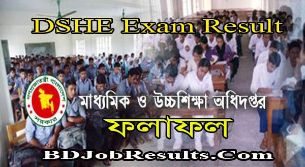 DSHE Exam Result 2021