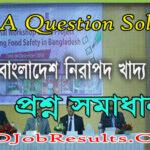 BFSA Question Solution 2021